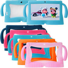 "New Cute Silicone Soft Gel Case Cover For 7"" Android A13 / A23/Q8 Tablet PC Kids"