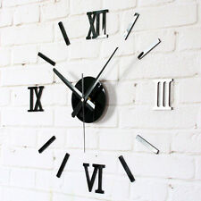 DIY Roman Numerals Wall Clock Novelty Gift Antique Watch Home Decor Clocks