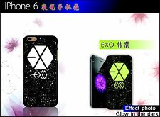 women man EXO PLANET group night in light case for iPhone 4 4S 5 5S 6 6 Plus