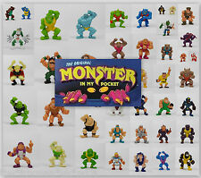 Monster Wrestlers In My Pocket - Mini Toy Figures - Last Updated 22-04-2015