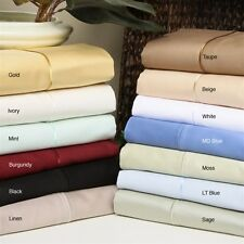US CAL-King Size Bedding Items 100%Egyptian Cotton 1000 Thread Count