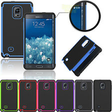 ShockProof Rubber & Plastic Hard Case Cover For Samsung Galaxy Note Edge N915