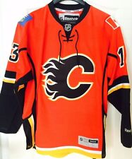 CALGARY FLAMES JOHNNY GAUDREAU MENS RBK PREMIER PRO CUSTOMIZED HOCKEY JERSEY