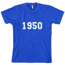 1949 College Style - Mens 65th Birthday Present / Gift T-Shirt - 10 Colours