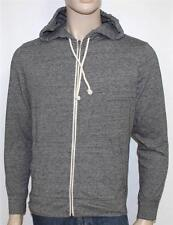 American Eagle Outfitters Zip Hoodie Mens Gray Sweatshirt Athletic Fit New NWT