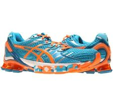 Men's Asics Gel-Kinsei 4 Running Shoes - Blue/White/Orange - NIB!