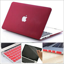 """4in1 2015 Marsala/ Wine Red Hard Case Cover for MacBook Air PRO 11"""" 13"""" 15""""inch"""