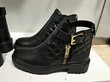 ZARA PADDED LEATHER BOOTIE  36-41 Ref. 7182/301