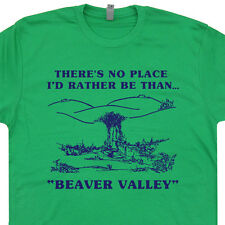 Beaver Valley Funny T SHIRT sexual mens sex lmfao stripper milf offensive Tee
