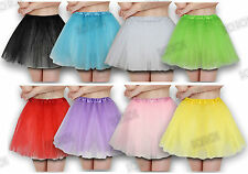 Girls Womens Net Tutu Short Petticoat Full Circle Circular Dance Ballet Skirt