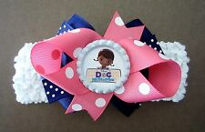 Doc McStuffins Hair Bow With, W/O Headband Baby Toddler *SHIPS FREE*