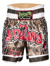 Muay Thai Shorts Kick Boxing MMA Shorts Kick Trunks Boxing Dragon Do War