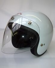 VISOR,OPEN FACE HELMET,JET 3,THREE STUD FITTING,LARGE SIZE,SCOOTER,MOPED,RIDERS