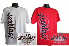 Steadfast Custom Paint T-shirts - Red or White - New - FREE SHIPPING