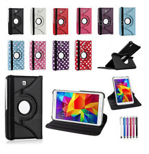 """360 Leather Stand Case Cover For Samsung Galaxy Tab 4 7.0"""" Inch SM-T230/231/235"""