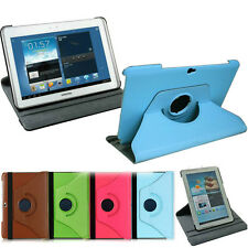 Rotating Leather Case for 2013version Samsung Galaxy Note10.1 Tablet N8000 N8010