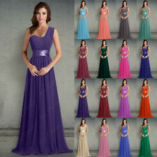Chiffon Evening Formal Party Ball Wedding Gown Prom Long Bridesmaid Dress 6-26