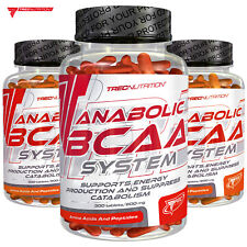 Anabolic BCAA 150/300 Tablets Muscle Gain Development Growth Whey Protein Pills