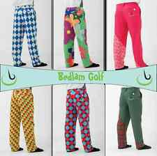 SALE!! Bedlam Golf- Funky, Crazy, Fun Golf Trousers- Various sizes, Many Colours