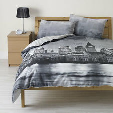 London Skyline Duvet Set Single Double and Kingsize contemporary bedroom