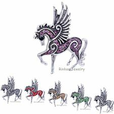 Hot Pegasus Horse Pendant Charms Necklace Lady Party Costome Jewelry Fashion New
