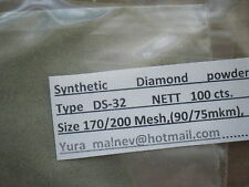 Diamond Powder Lapidary,Grinding size 325to50 Grit,Mesh weight 25carats.=5Gram