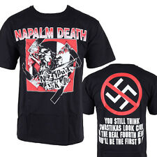 NAPALM DEATH - Nazi Punk Shirt - Official Licensed T-shirt - New XL Only
