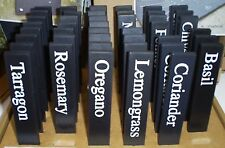 ashortwalk ECO HERB LABELS MARKERS UK made recycled plant pots BUY 3 GET 1 FREE!