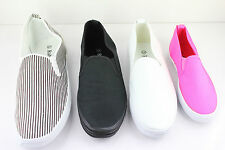 RABEN CANVAS SLIP ON SHOES (611)