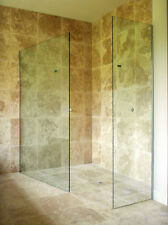 Walk In Shower Enclosure Wet Room Tall Panel 8mm Easyclean Glass Screen Cubicle