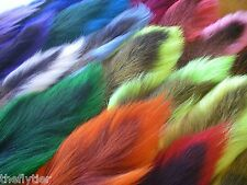 HARELINE'S LARGE NORTHERN BUCKTAIL - Premium Long Hair Tails - fly tying
