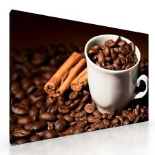 Large Coffee Beans Canvas Picture Print Artwork 20x30 Kitchen Wall Art