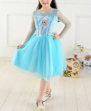 Vestito Bambina Feste 2 - 8 anni-years - Girl dress Party - Frozen Elsa - A00036