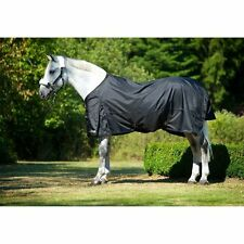Back on Track Therapeutic Turnout Sheet - Black - Sizes: 72, 75, 78, 81 & 84