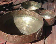 NEW Decorative Cauldron Plant Pot from recycled metal barrels Lg, Med, or Small
