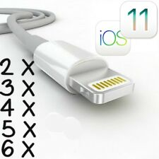 8 Pin USB Cable Sync Charger Cord Data iPhone 6 Plus 5 5S 5C CERTIFIED IOS 8.3