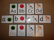 Alphabet & Picture Flash Cards *3 designs*- Educational/Teaching Resource - EYFS