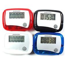 Health Care Durable Digital LCD Screen Pedometer Step Distance Counter For Sport
