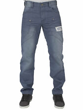MENS NEW JEANS EZ299 BLUE LIGHTWASH STRAIGHT LEG JEANS BARGAIN PRICE RRP £34.99