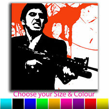 Scarface Canvas Abstract Iconic Art Print Box Framed Picture B