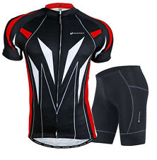 Men Cycling Jersey Bicycle Wear Breathable Shorts Outdoor Biking Clothing Set