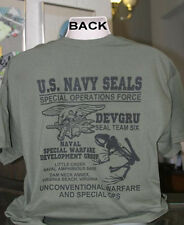 U.S Navy Seals T-Shirt Special Ops Operations Force DEVGRU Seal