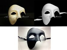 Phantom of the Opera Half Face Men Masquerade Mask Costume Ball Prom Party Mask