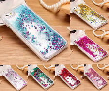 Bling Dynamic Liquid Glitter Stars Quicksand Hard Plastic Case Cover For Phone