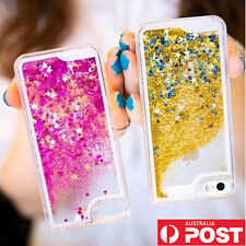 Liquid Glitter Water Sparkly Stars Bling Case Cover for iPhone 5 5S 6 & 6 Plus