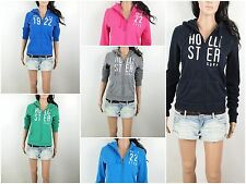Hollister By Abercrombie Women's Hoodie San Clemente Embroidery Classic Fit
