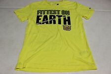 REEBOK CROSSFIT SHIRT PERFORMANCE ATHLETIC S M 2014 GAMES FITTEST ON EARTH  NWT