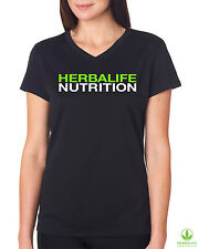 Herbalife Nutrition. Cool Dry Fit. Black T Shirt for Women.