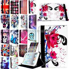"Universal Folio Stand Leather Case Cover Pouch FIT ANDROID / WINDOWS 8 ""Tablet"