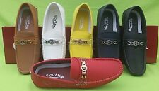 MEN GIOVANNI DRESS SHOES LOAFER CASUAL ITALIAN STYLE SLIP-ON SOLID MEDIUM (M,D)